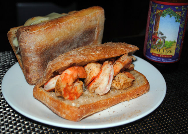 Patrick's Shrimp Sandwiches
